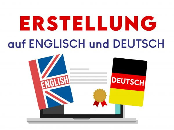 Arbeitnehmer Ertstellung deutsch und englisch 09